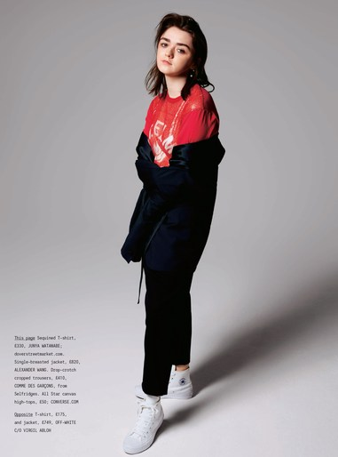 Maisie Williams · July 2017 - Sunday Times Style