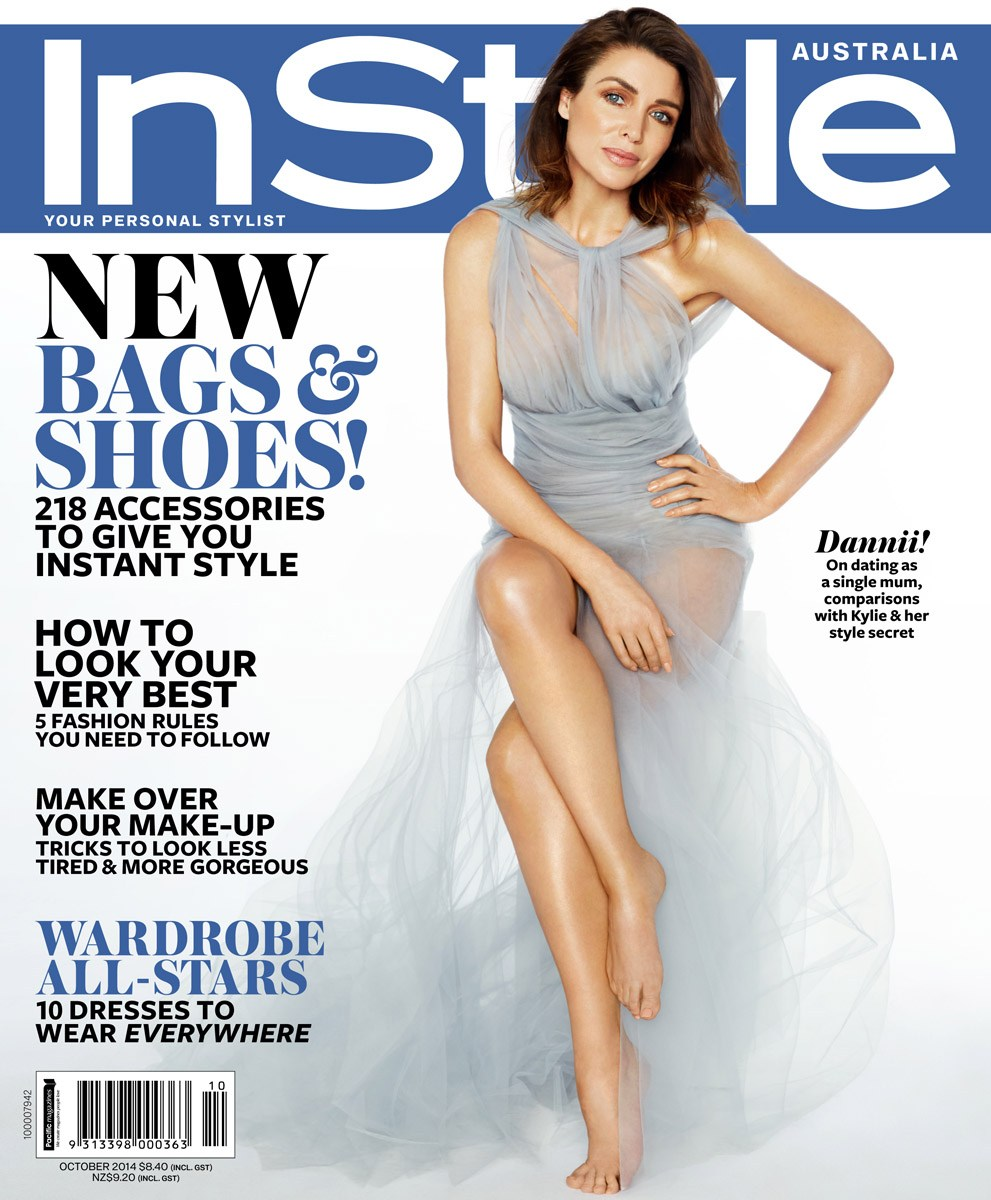 Judy Casey News Dannii Minogue For Instyle Australia October 2014