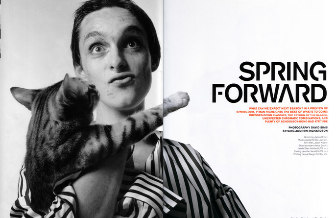 Spring Forward - David Sims - 2005 -