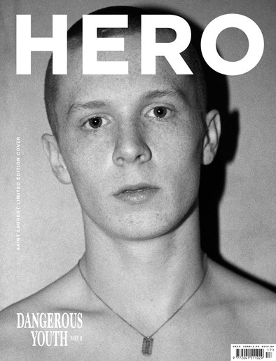 Hero Magazine - SAINT LAURENT Exclusive Cover