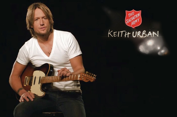 "Salvation Army ""Keith Urban - Text to Give"" :30 -"