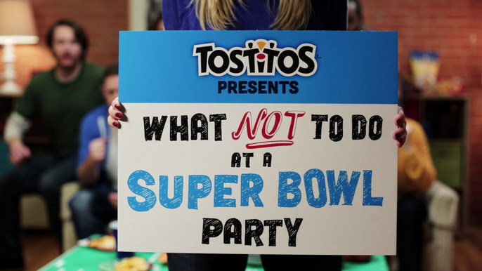 "Frito-Lay Tostitos ""What Not to Do at a Super Bowl Party: Face Paint"" :30 -"