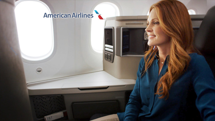 "American Airlines ""Business Class"" :15 -"