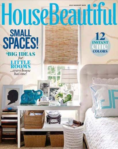 House Beautiful, July/August 2015 -