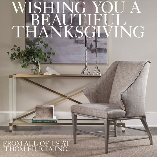 thom filicia news happy thanksgiving from thom filicia inc. Black Bedroom Furniture Sets. Home Design Ideas