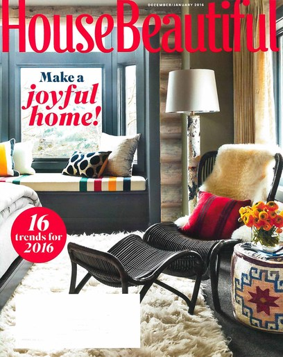 House Beautiful December January 2015