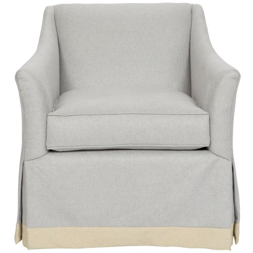 Sackets Harbor Waterfall Skirted Chair -
