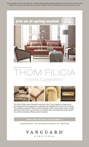 Thom filicia home for Furniture history society