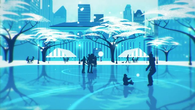 CitiPond - Agency: Publicis NY Client: Citibank  Short, promotional spot highlighting an annual skating rink around the corner from Time Square sponsored by Citibank.