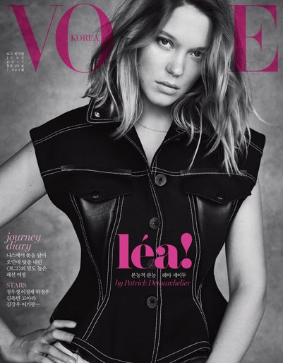Lea Seydoux · June 2017 - Vogue Korea