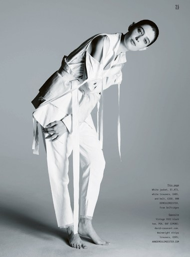 Asia Kate Dillon · June 2017 - Sunday Times Style