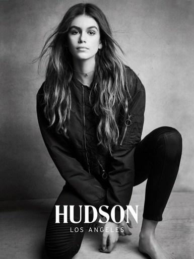 Kaia Gerber · FW 2017 - Hudson Jeans