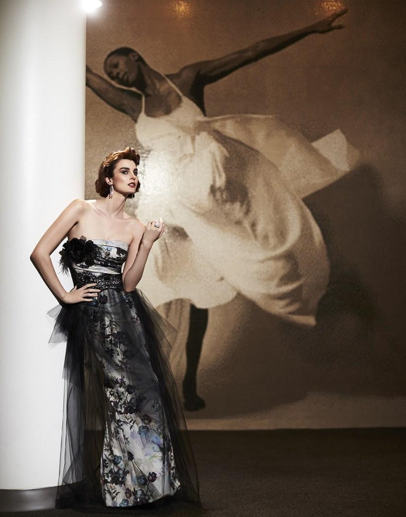 Bernstein Andriulli News Tom Corbett Millenia Olivia Abstract Dress