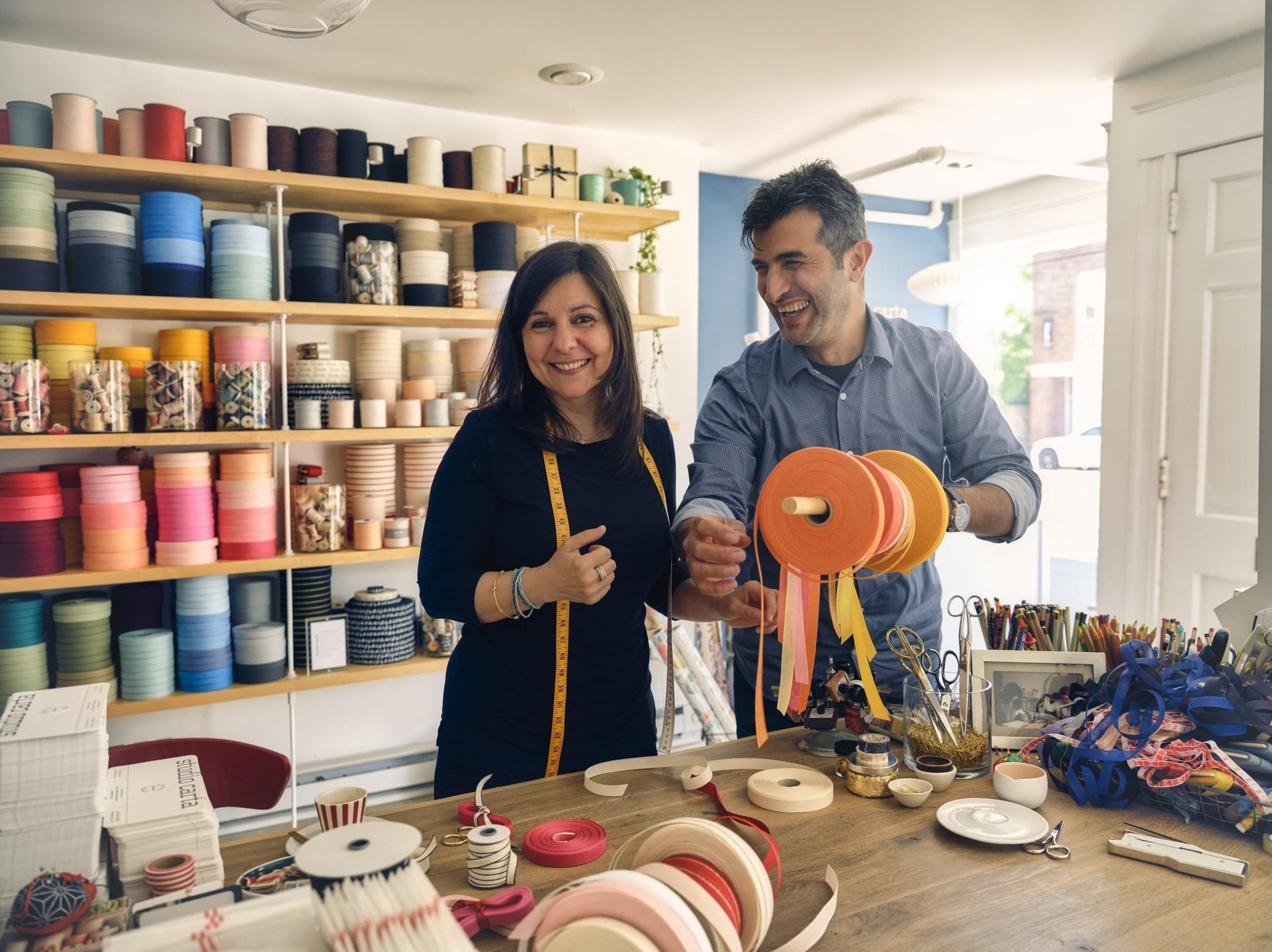 Angela Ligouri & Mohamed Alaeddin