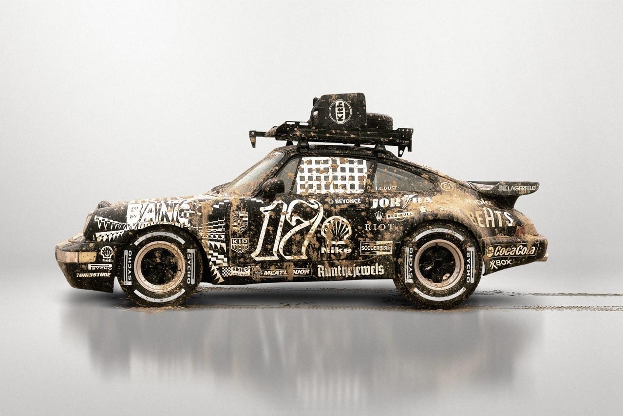 Ilovedust | 17 Years Celebratory Custom Porsche