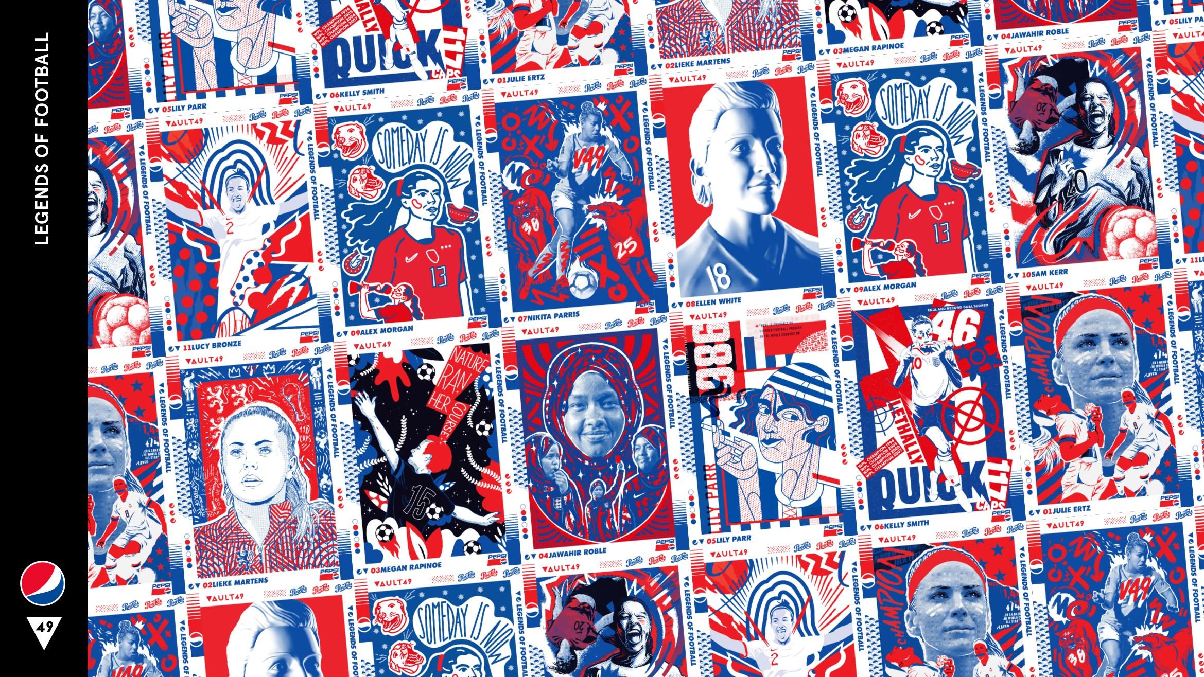 Vault49 | Pepsi | Legends of Football