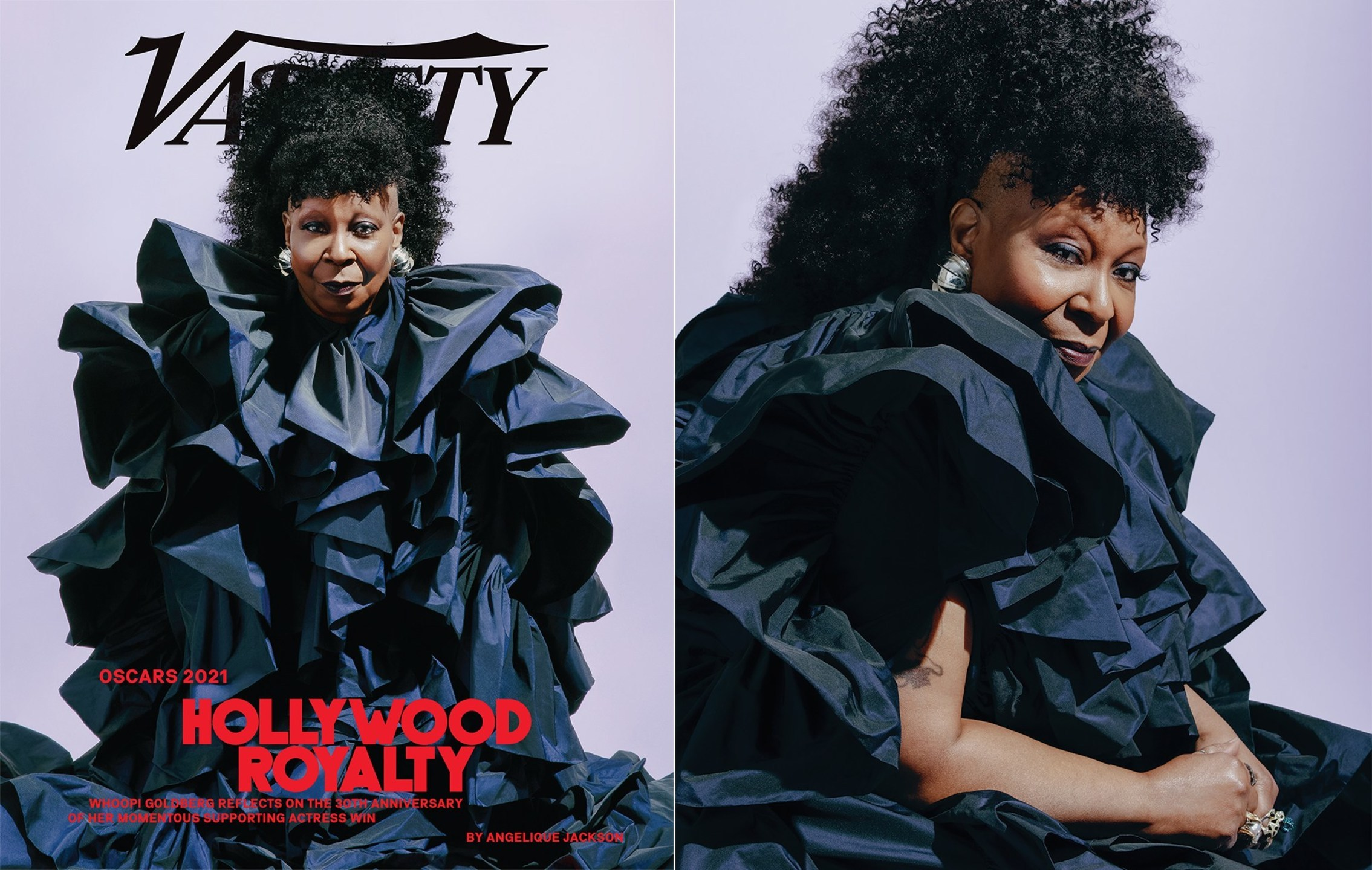 Tyler Twins | Whoopi Goldberg For Variety