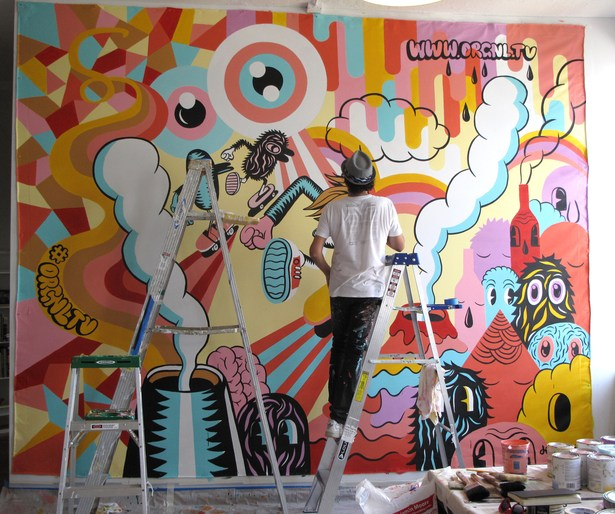 Murals   Hand Painted