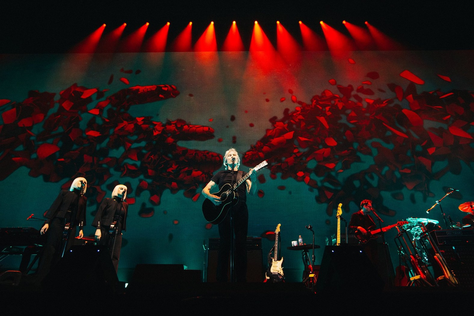 Image result for roger waters us + them tour