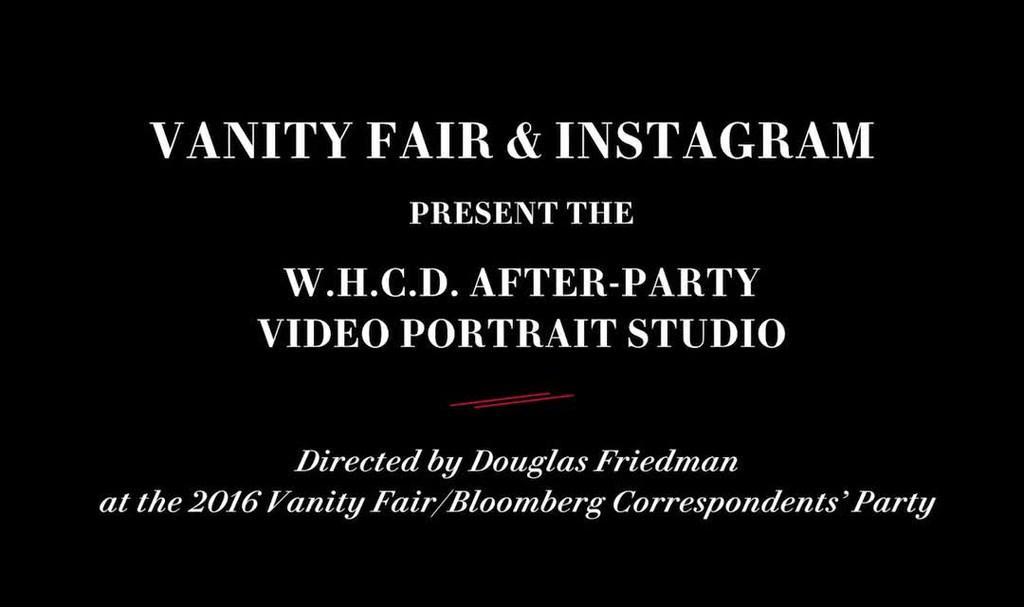 - Vanity Fair x Instagram