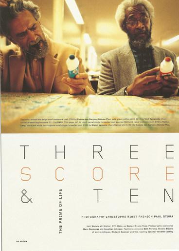 3 scores & 10 - Christophe Rhet - 2005 -