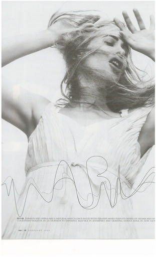 Aria - David Sims - 2009 -