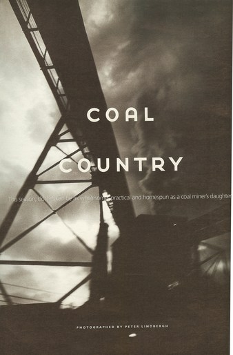 Coal Country - Peter Lindbergh - 1998 -