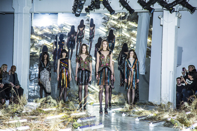 FW15 Rodarte Fashion Show -