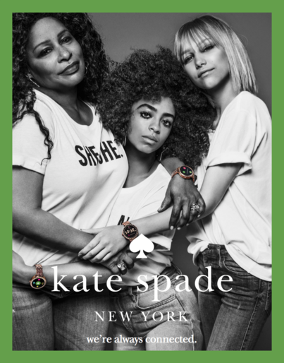 "Kate Spade ""Connected"" Campaign 2018 -"