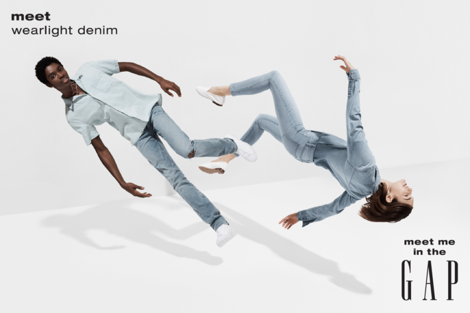 GAP Meet Wearlight Denim -