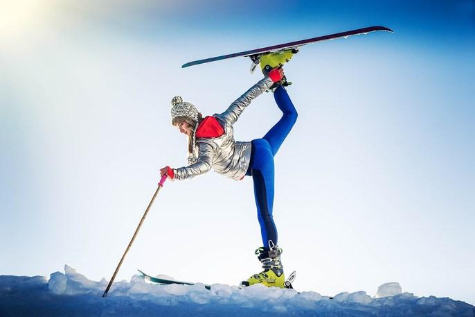 Lori Adamski-Peek - Ice & Snow Sports