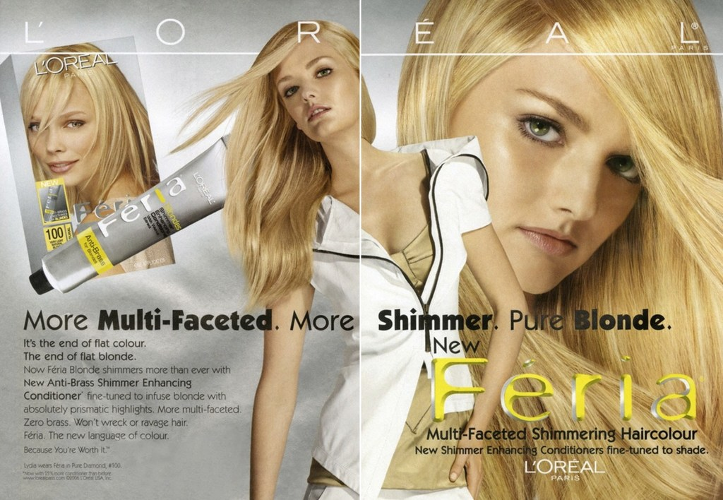 language used in beauty advertisements