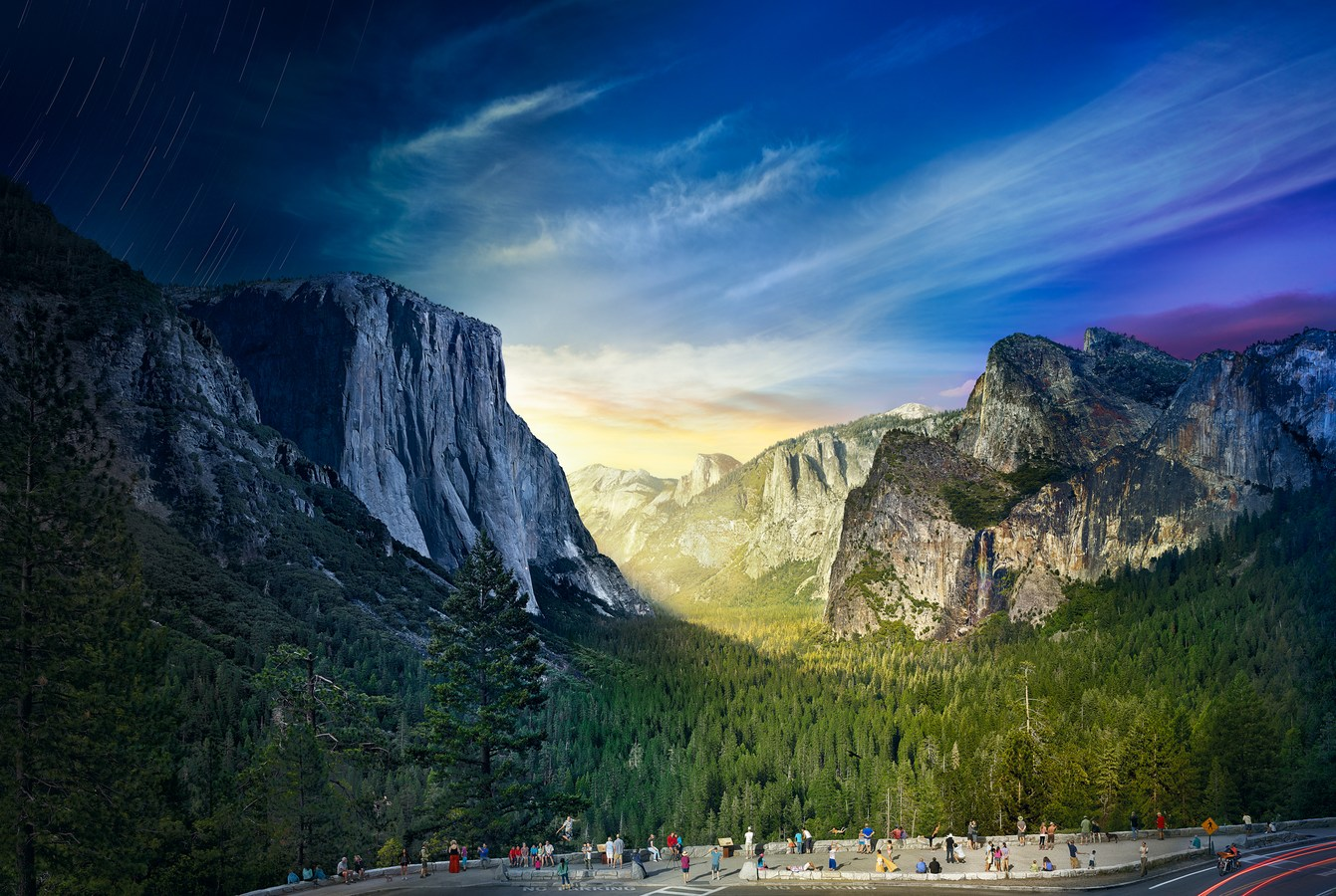 Stephen Wilkes News Day To Night Tunnel View