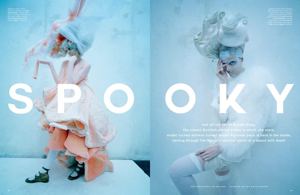 Streeters - News - Love Magazine Spring/Summer 2015 - Spooky