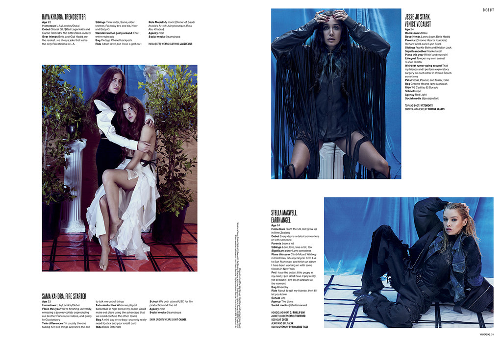 Streeters - News - V Magazine Fall Preview 2015 - City of Angels