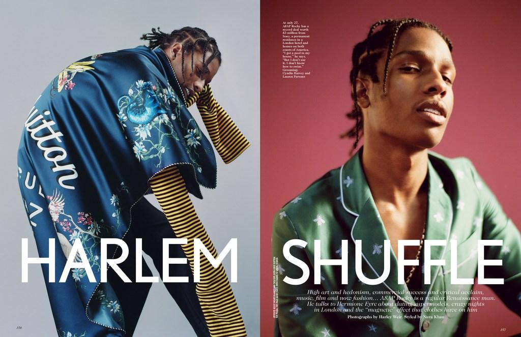 Streeters - News - Vogue UK February 2016 - Harlem Shuffle