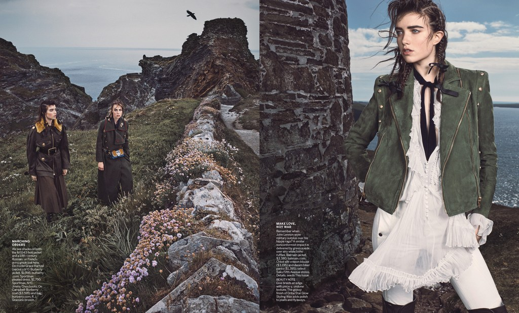 00c738866703 Streeters - News - Vogue US September 2016 - Major General