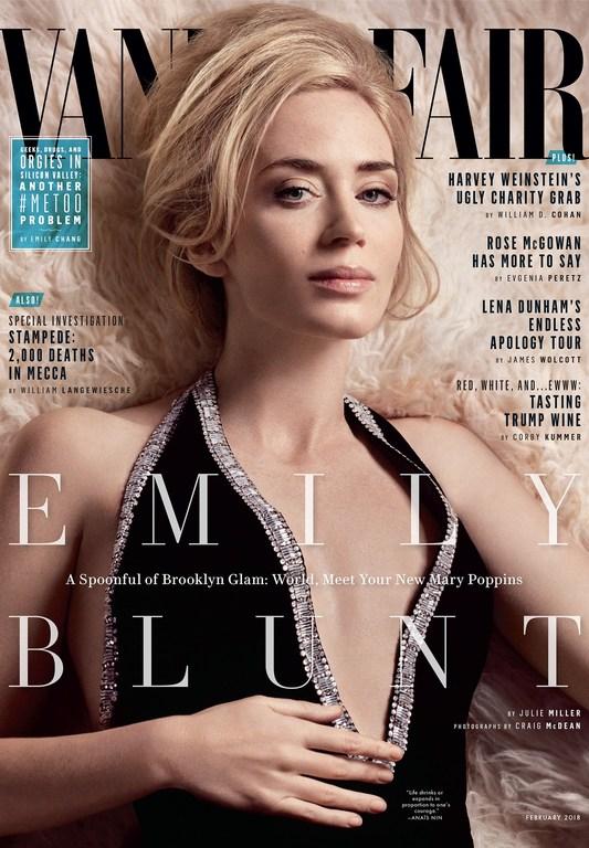 Vanity Fair, Craig McDean, Jessica Diehl, Emily Blunt, 2018, Nicholas Des