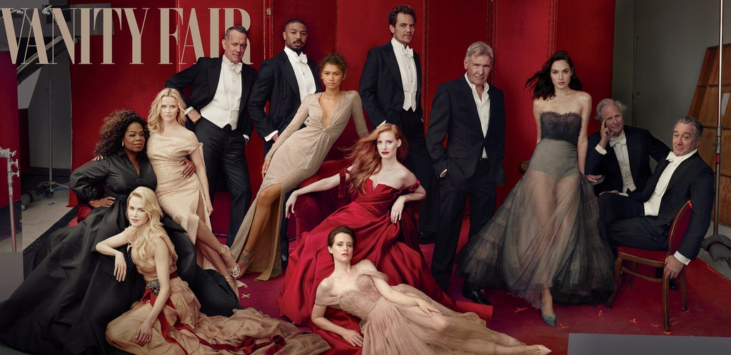 Vanity Fair Jessica Diehl Annie Leibovitz Hollywood Issue 2018