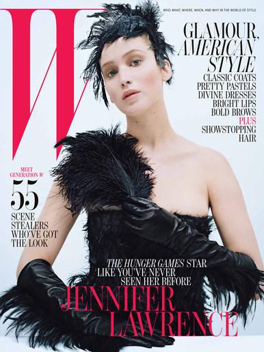 2012, Celebrities, Celebrities, Jennifer Lawrence, Photographers, Photographers, Tim Walker, W Magazine, W Magazine, October