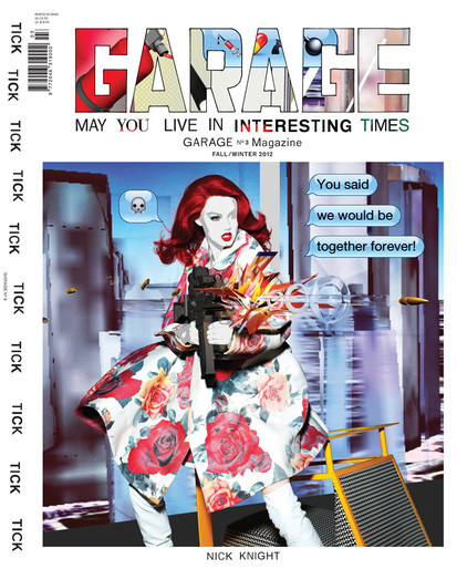 2012, Garage, Lindsey Wixson, Models, Photographers, Photographers, Nick Knight