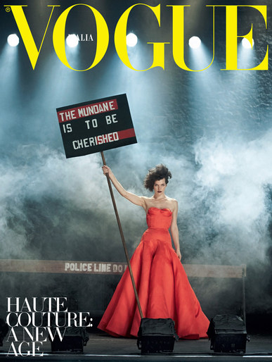 2012, Models, Models, milla jovovich, Peter Lindbergh, Photographers, Vogue Italia, Vogue Italia, September