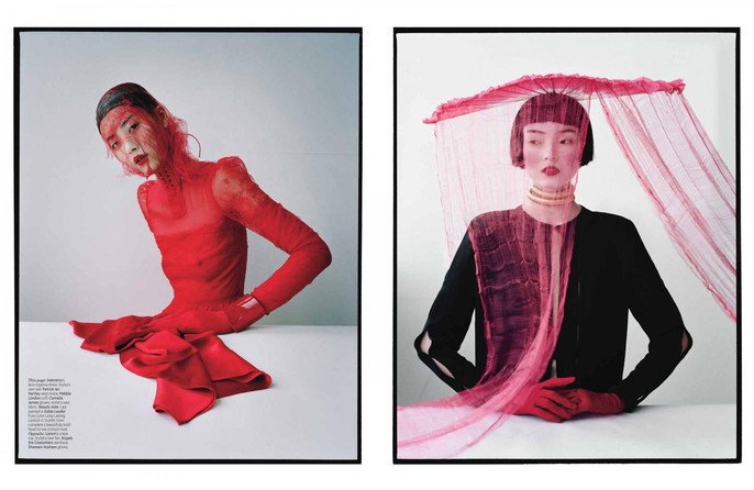 2012, Models, Models, Liu Wen, Models, Wang Xiao, Photographers, Photographers, Tim Walker, W Magazine, W Magazine, March