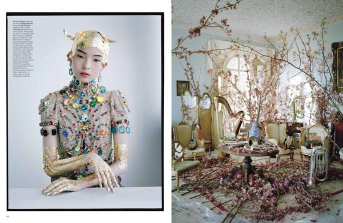 2012, Models, Models, Wang Xiao, Photographers, Photographers, Tim Walker, W Magazine, W Magazine, March