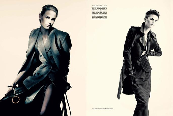 2011, Models, Models, Saskia de Brauw, Models, Valerija Kelava, Photographers, Photographers, Paolo Roversi, Vogue Italia, Vogue Italia, December
