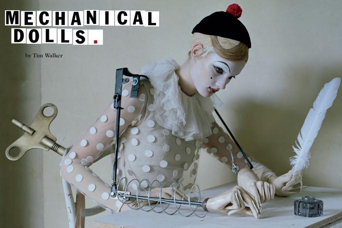 2011, dolls, Kirsi Pyrhonen, Models, Photographers, Photographers, Tim Walker, Vogue Italia, Vogue Italia, October