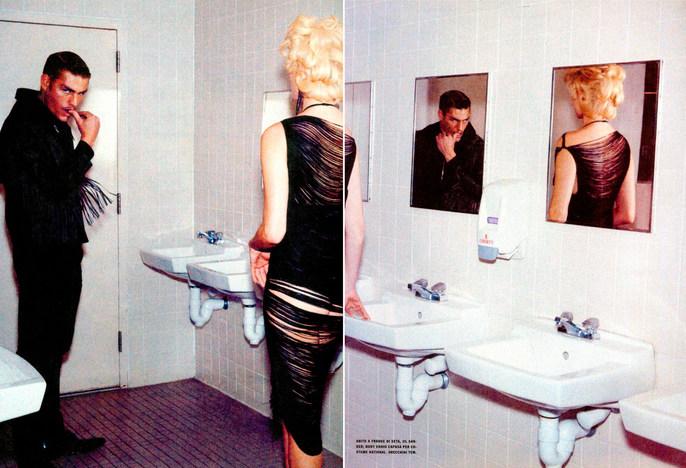 2009, Vogue Italia, April, Vogue Italia