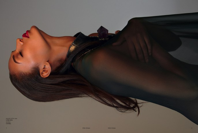 032c, 032c, Autumn/Winter, 2012, Joan Smalls, Models, Photographers, Photographers, Sean & Seng