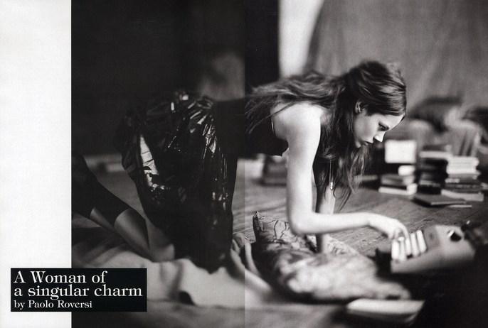 2007, Freja Beha Erichsen, Models, Photographers, Photographers, Paolo Roversi, Vogue Italia, Vogue Italia, November