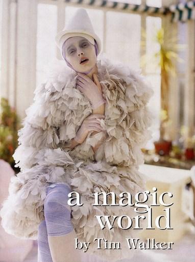 2008, Alice Gibb, Models, Models, Sunniva Stordahl, Photographers, Photographers, Tim Walker, shona heath, Vogue Italia, Vogue Italia, January